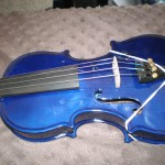 The Blue Violin! (1/4 size)