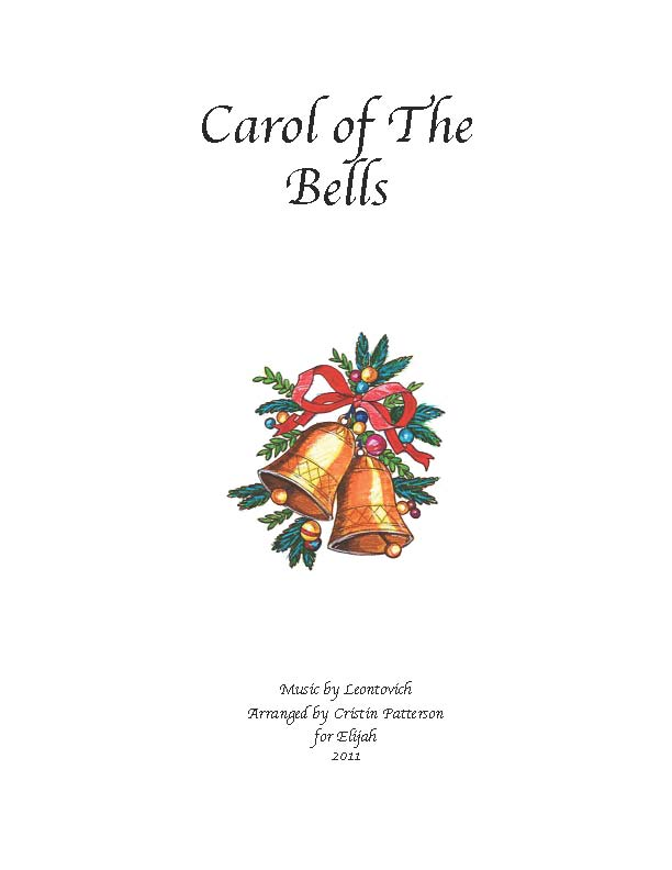 Carol of The Bells – Easy Piano Solo – FREE MP3